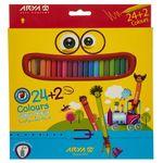 مداد رنگی 24 رنگ آریا مدل 3017 thumb