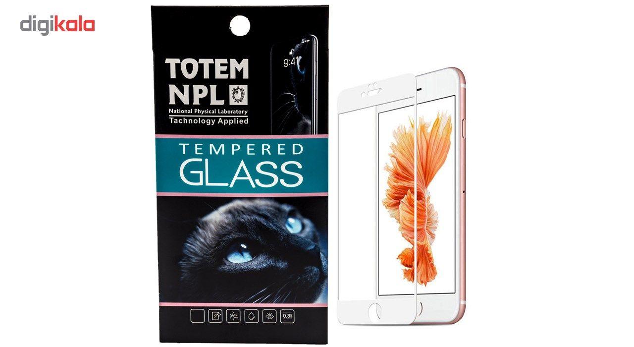 محافظ صفحه نمایش تمام چسب شیشه ای مدل 5D مناسب برای گوشی اپل آیفون 6/6s main 1 1