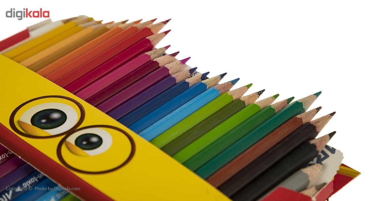مداد رنگی 24 رنگ آریا مدل 3017 main 1 3
