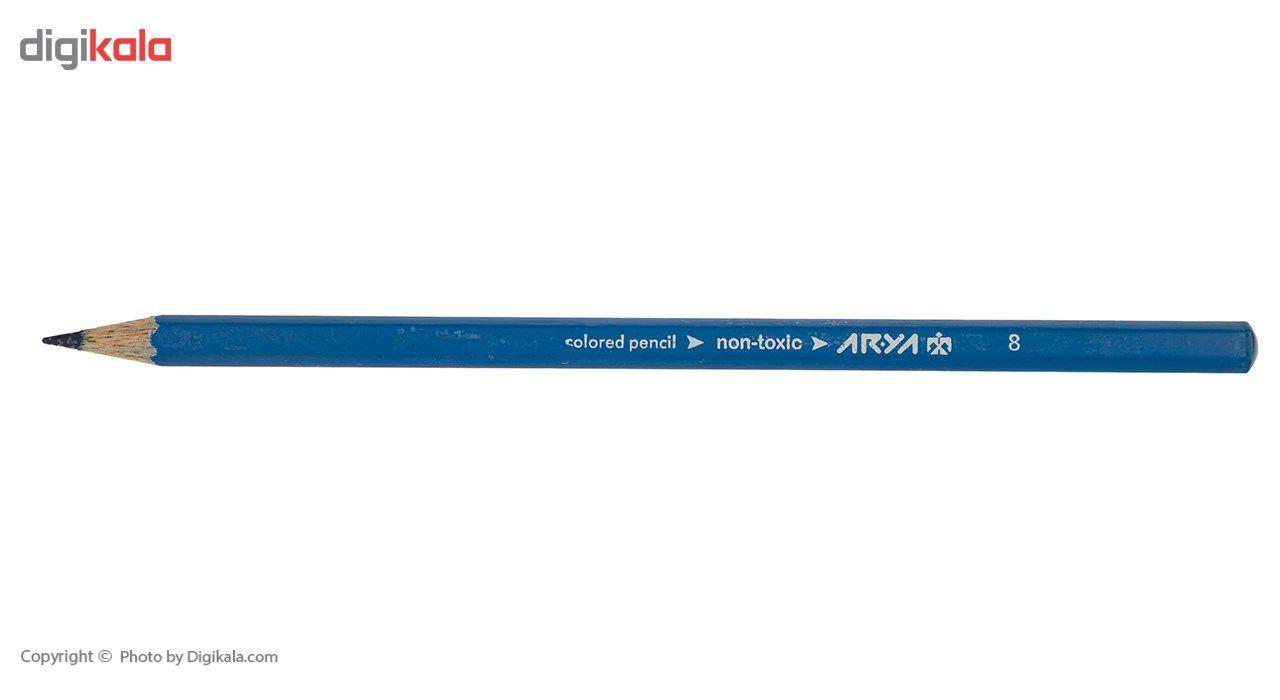 مداد رنگی 24 رنگ آریا مدل 3017 main 1 4