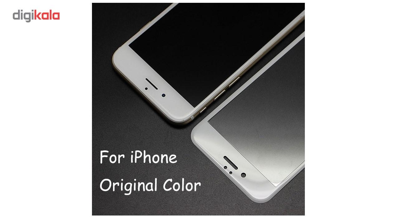 محافظ صفحه نمایش تمام چسب شیشه ای مدل 5D مناسب برای گوشی اپل آیفون 6/6s main 1 6