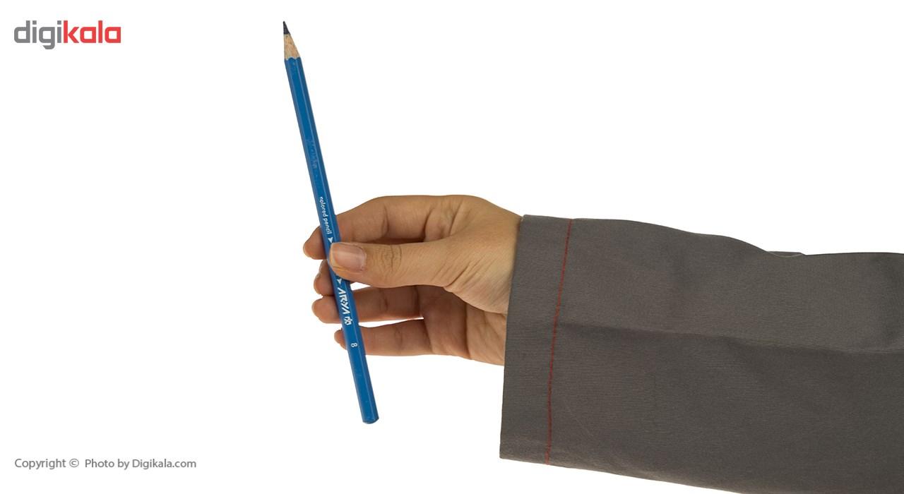 مداد رنگی 24 رنگ آریا مدل 3017 main 1 6