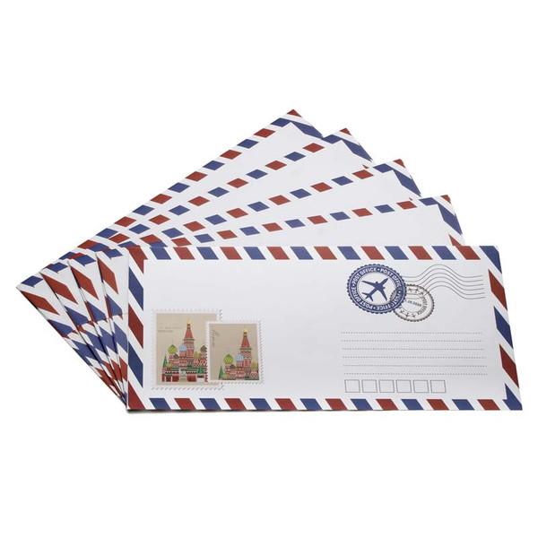 پاکت نامه انتشارات سیبان مدل Post بسته 5 عددی
