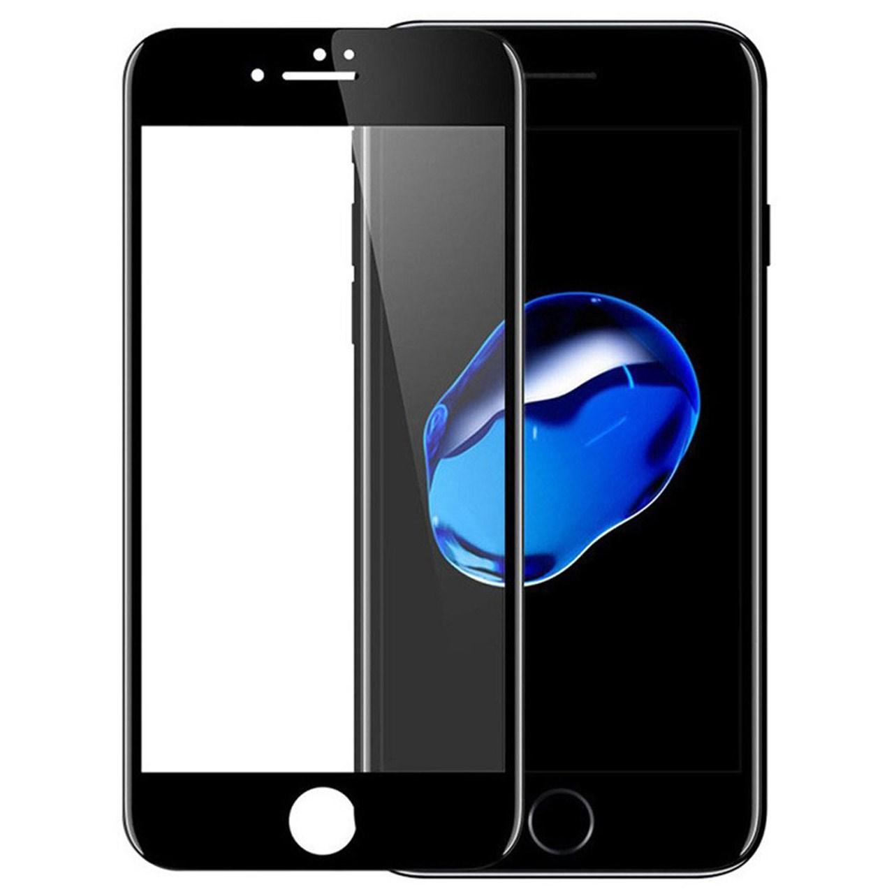 محافظ صفحه نمایش شیشه ای مدل 5D مناسب برای گوشی موبایل iPhone 7/8              ( قیمت عمده )