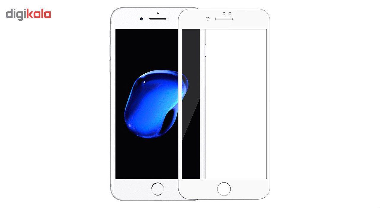 محافظ صفحه نمایش شیشه ای مدل 5D مناسب برای گوشی موبایل iPhone 7/8 main 1 2
