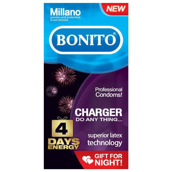 کاندوم بونیتو مدل charger بسته 6 عددی