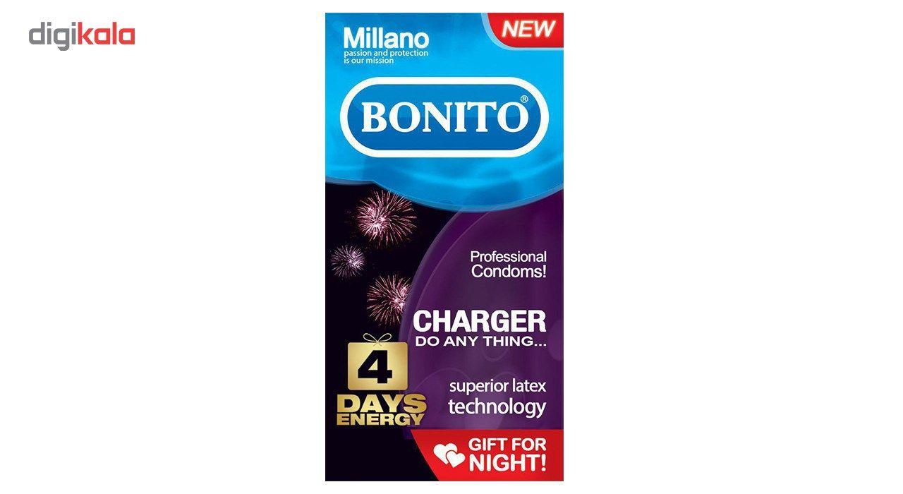 کاندوم بونیتو مدل charger بسته 6 عددی main 1 1