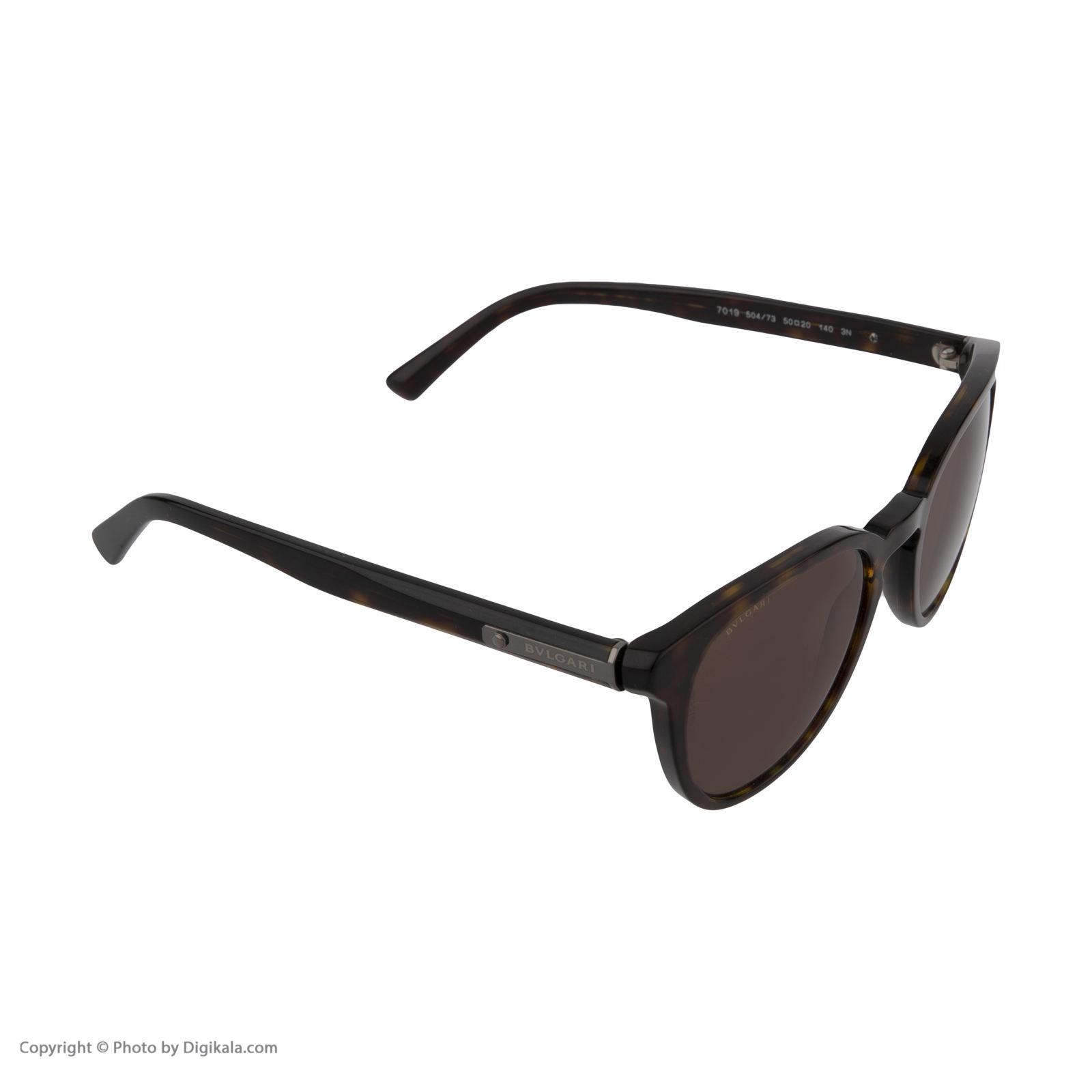 عینک آفتابی بولگاری مدل BV7019S 50473 -  - 4