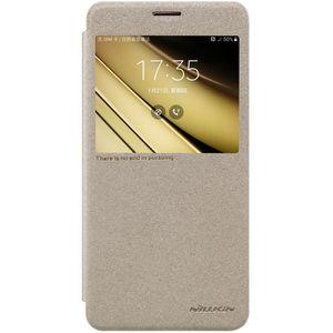 کیف کلاسوری نیلکین مدل New Leather Sparkle مناسب برای گوشی موبایل سامسونگ Galaxy C7