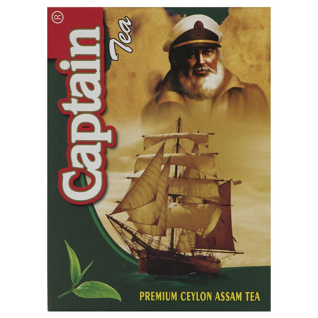چای کاپیتان ممتاز سیلان آسام 450 گرمی