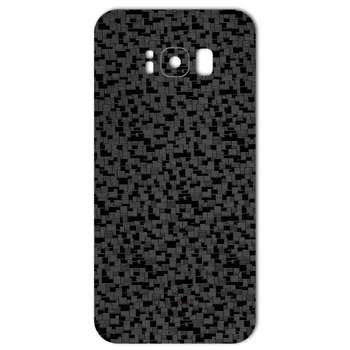 برچسب پوششی ماهوت مدل Silicon Texture مناسب برای گوشی  Samsung S8