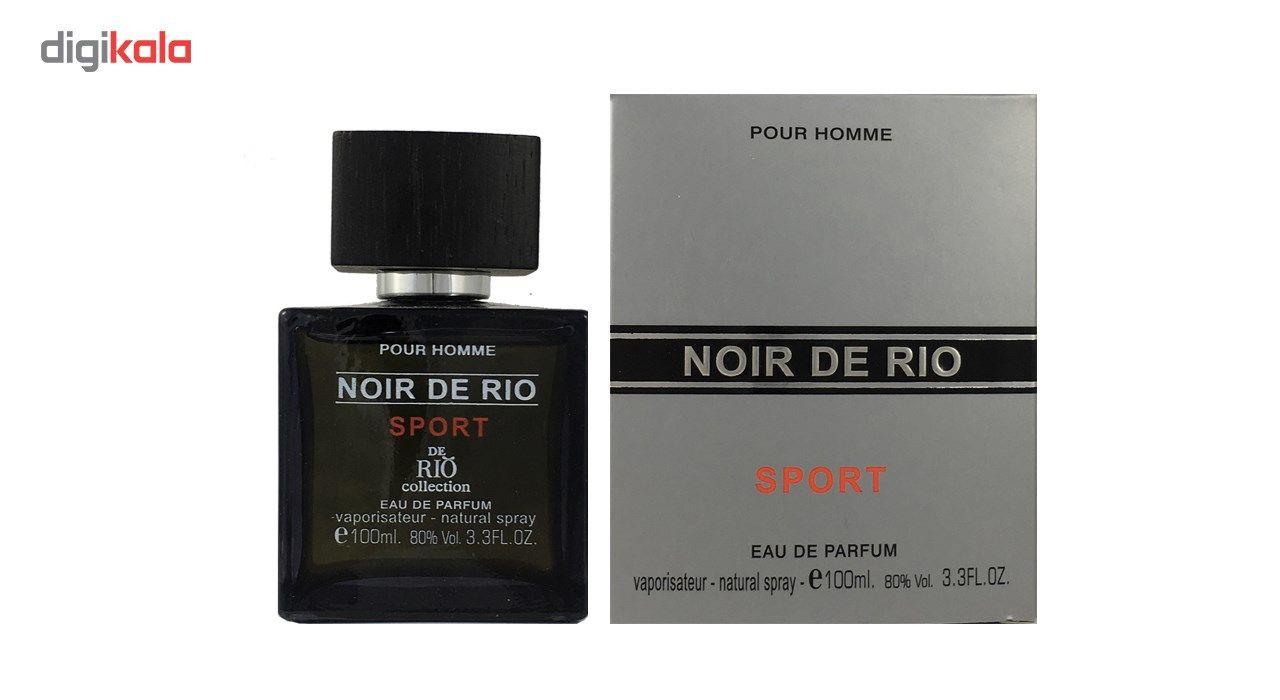 ادو پرفیوم مردانه ریو کالکشن مدل Rio Noir De Rio Sport حجم 100ml main 1 1