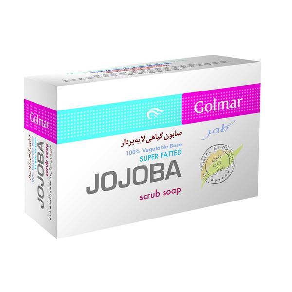 صابون لایه بردار گلمر مدل Jojoba مقدار 90 گرم