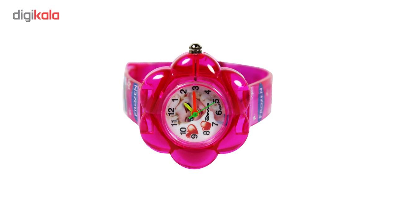 ساعت مچی عقربه ای بچگانه مدل K-08 دخترانه