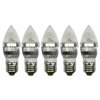 لامپ ال ای دی 3 وات بینانور مدل کریستالی پایه E27 بسته 5 عددی