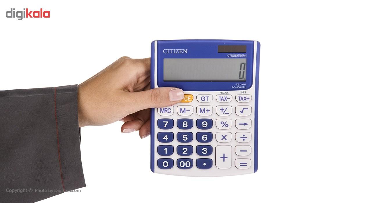 قیمت                      ماشین حساب سیتیزن مدل FC-800NPU