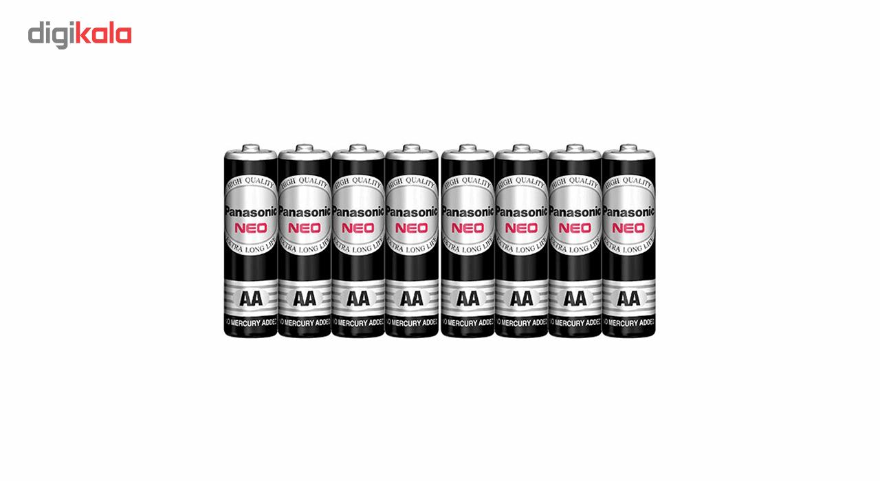 باتری نیم قلمی پاناسونیک مدل NEO 1.5V بسته 8 عددی main 1 1