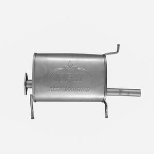 منبع اگزوز کی اف ام مدل K110 مناسب برای پراید