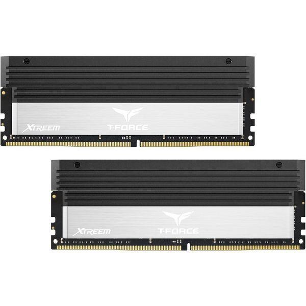 رم دسکتاپ DDR4 دو کاناله 4000 مگاهرتز CL18 تیم گروپ مدل T-Force XTREEM ظرفیت 16 گیگابایت