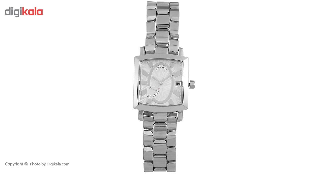ساعت مچی عقربه ای زنانه رومانسون مدل TM5165BL1WA12W 8