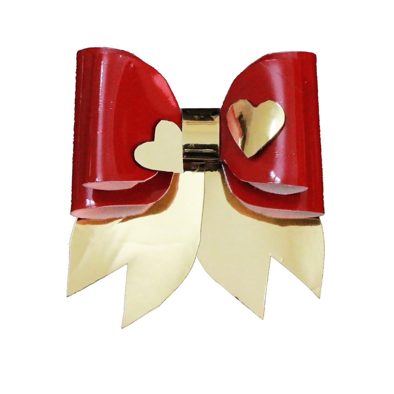 گیره سر پاپیونی  مدل قلب