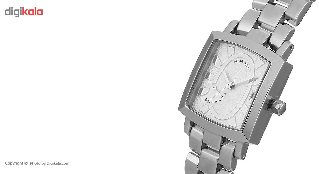 ساعت مچی عقربه ای زنانه رومانسون مدل TM5165BL1WA12W