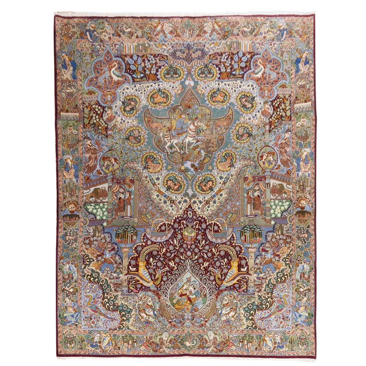 فرش دستبافت قدیمی یازده و نیم متری سی پرشیا کد 174523