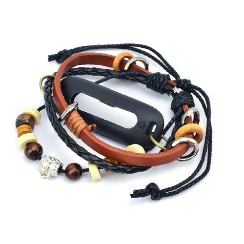 بند چرمی Tamister مناسب برای ساعت هوشمند Mi Band 2