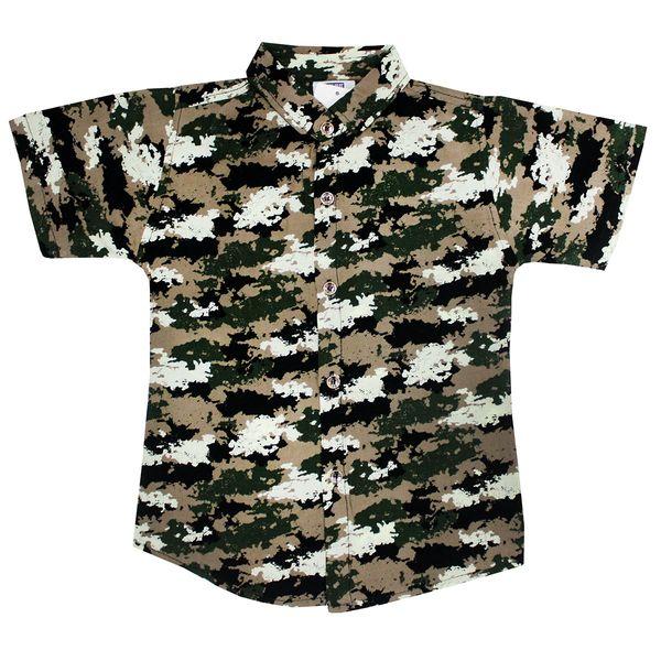 پیراهن پسرانه مدل چریکی کد SAB23