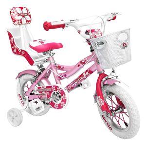 دوچرخه شهری اپکس سایز 12 مدل Florance صورتی