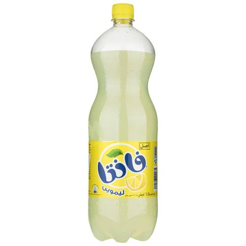 نوشابه لیمویی فانتا مقدار 1.5 لیتر