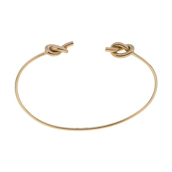 دستبند طلا 18 عیار زنانه سنجاق مدل X088952