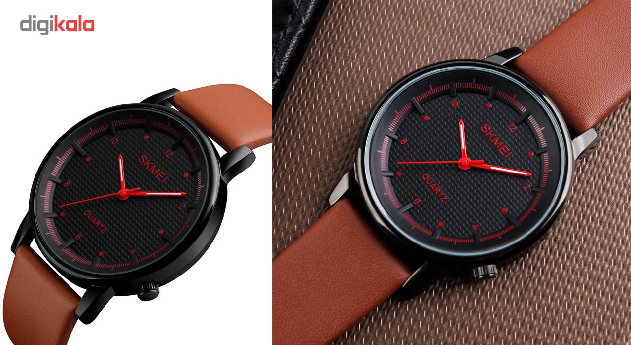 ساعت مچی عقربه ای مردانه اسکمی مدل 1210 کد 02