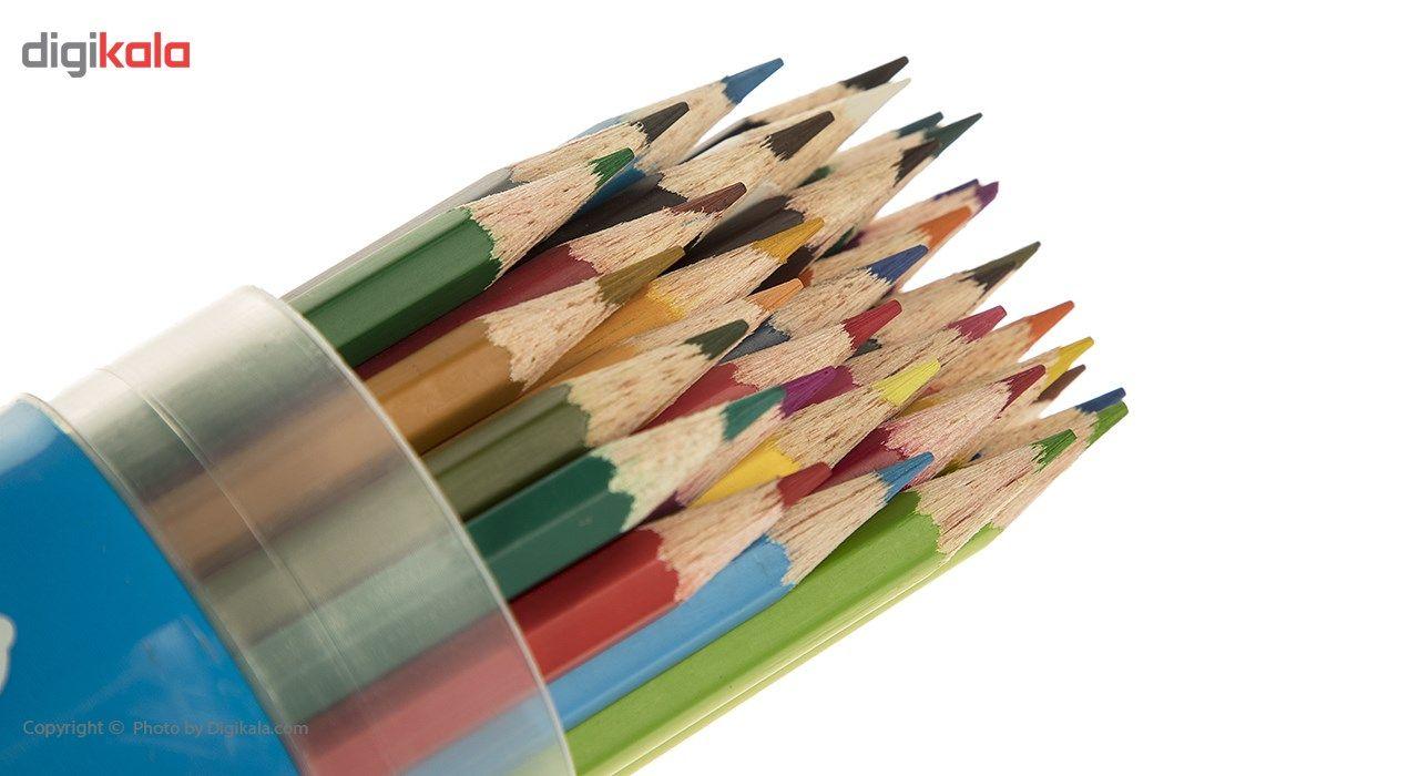 مداد رنگی 36 رنگ آریا مدل 3053 main 1 2
