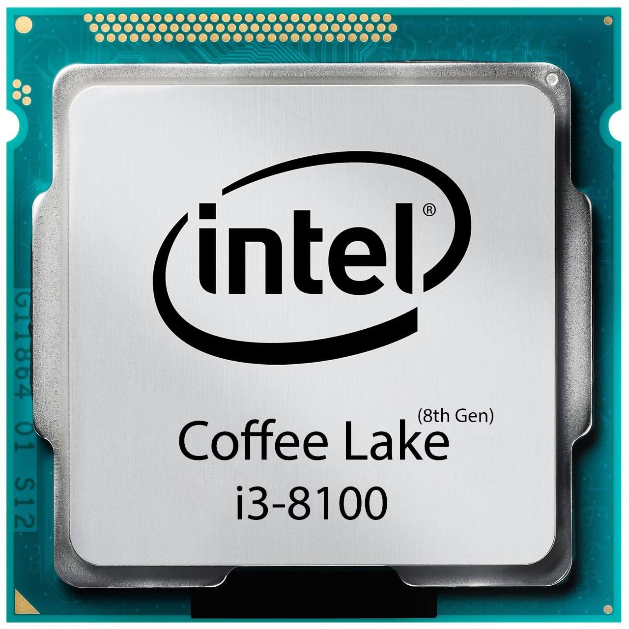 پردازنده مرکزی اینتل سری Coffee Lake مدل i3-8100