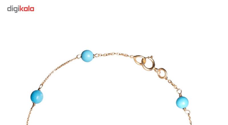 دستبند طلا 18 عیار گرامی گالری مدل B256