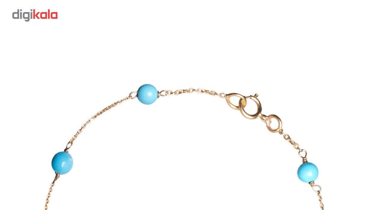 دستبند طلا 18 عیار گرامی گالری مدل B256 -  - 3