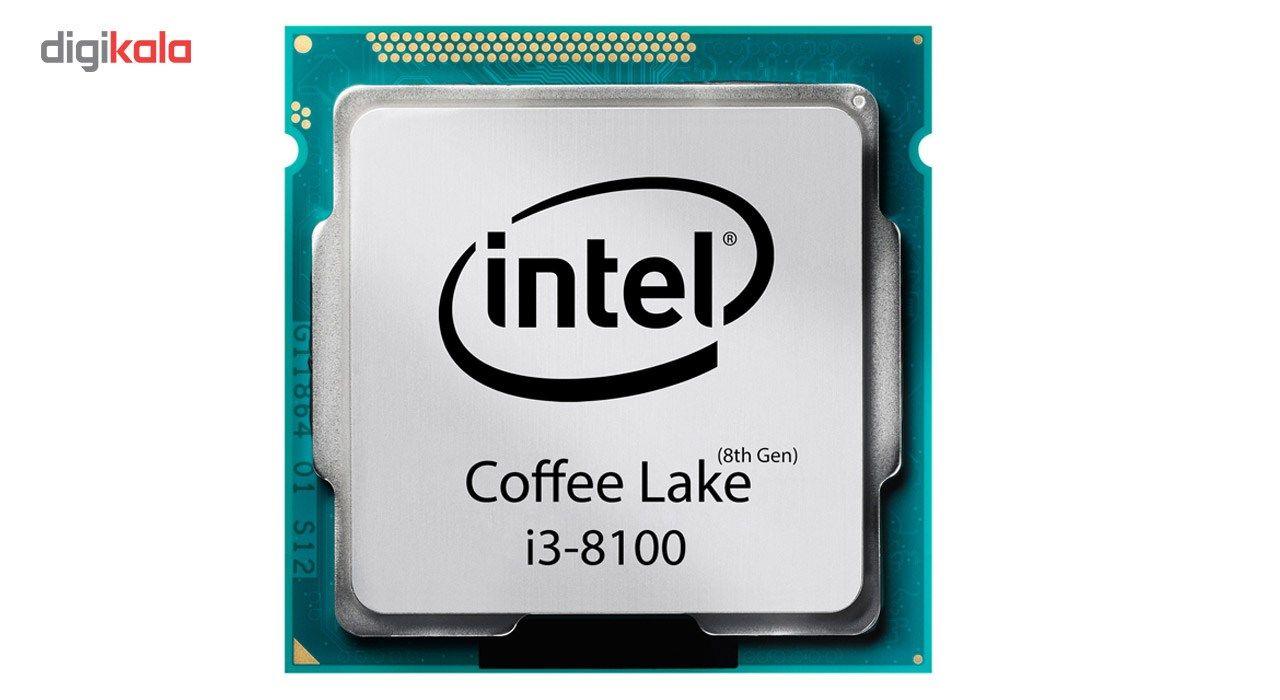 پردازنده مرکزی اینتل سری Coffee Lake مدل i3-8100 main 1 1