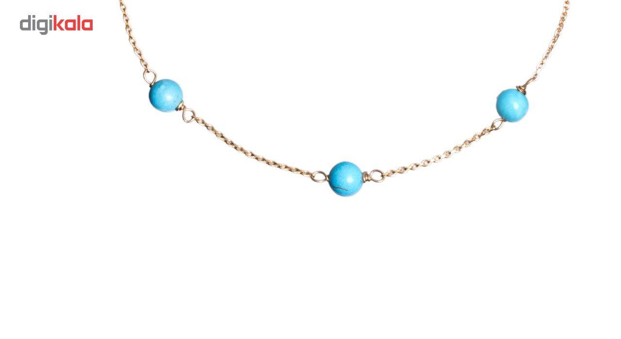 دستبند طلا 18 عیار گرامی گالری مدل B256 -  - 4