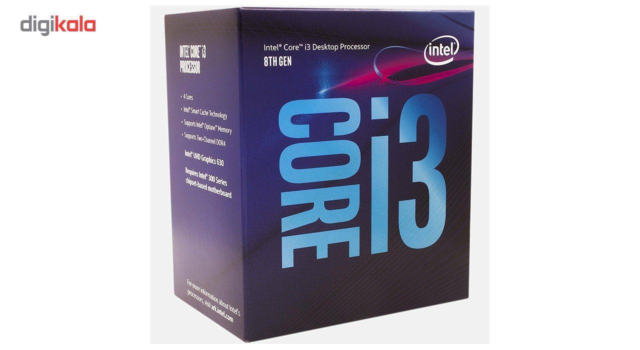 پردازنده مرکزی اینتل سری Coffee Lake مدل i3-8100 main 1 2