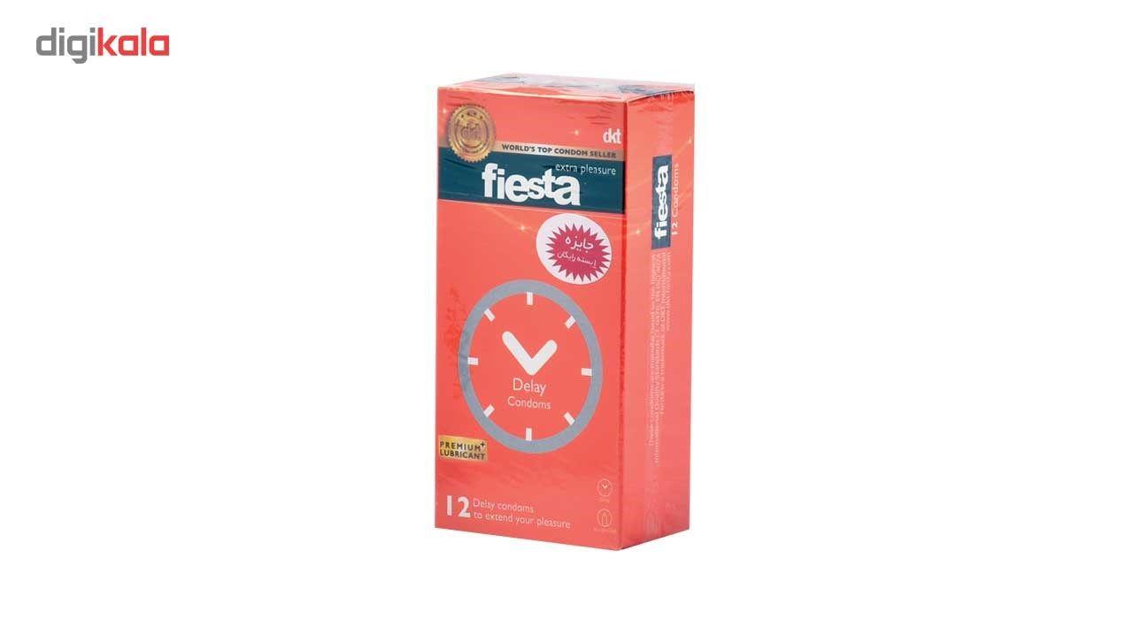 کاندوم تاخیری فیستا مدل Delay بسته 12 عددی main 1 1
