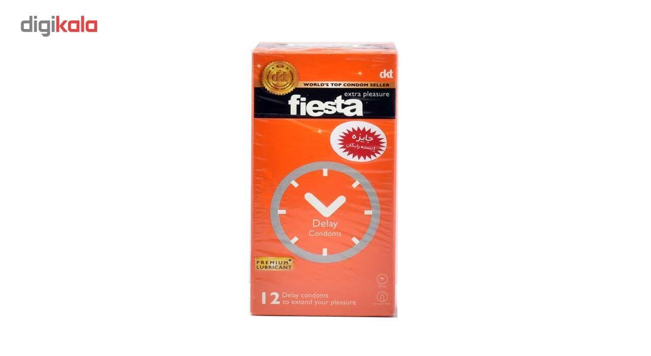 کاندوم تاخیری فیستا مدل Delay بسته 12 عددی main 1 2