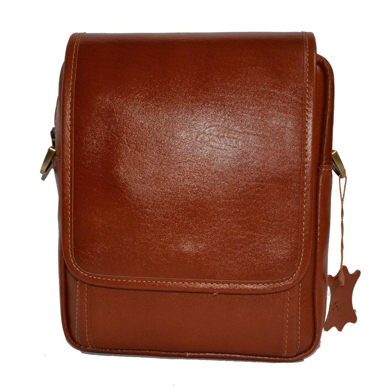 کیف دوشی چرم رایا مدل Arsham
