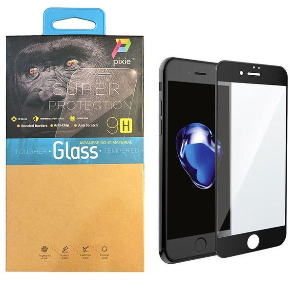 محافظ صفحه نمایش  تمام چسب شیشه ای پیکسی مدل 5D  مناسب برای گوشی اپل آیفون 6/6s پلاس