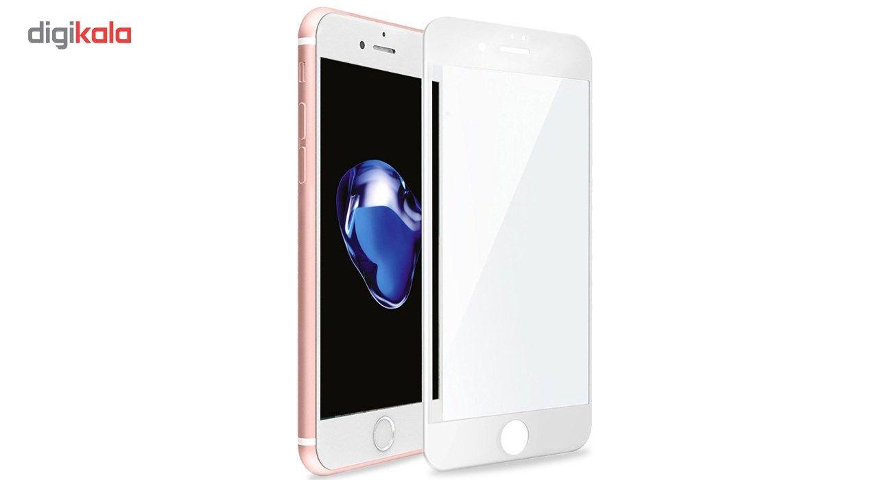 محافظ صفحه نمایش  تمام چسب شیشه ای پیکسی مدل 5D  مناسب برای گوشی اپل آیفون 6/6s پلاس main 1 3