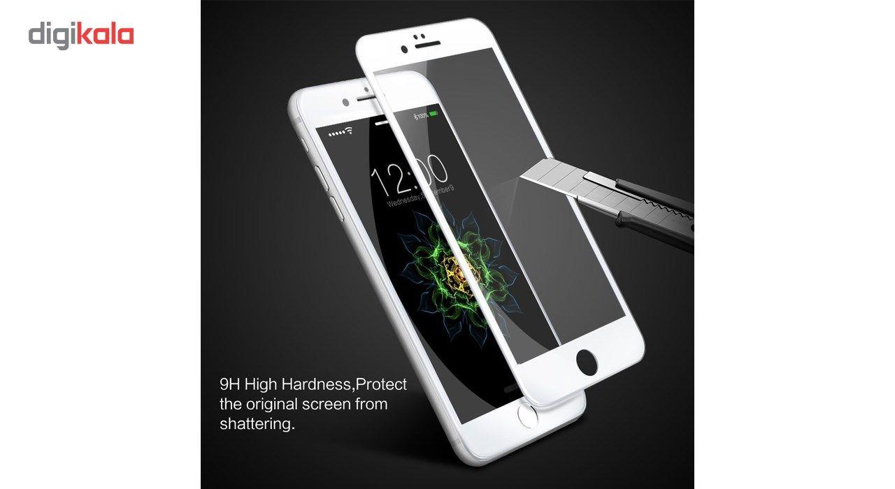 محافظ صفحه نمایش  تمام چسب شیشه ای پیکسی مدل 5D  مناسب برای گوشی اپل آیفون 6/6s پلاس main 1 6