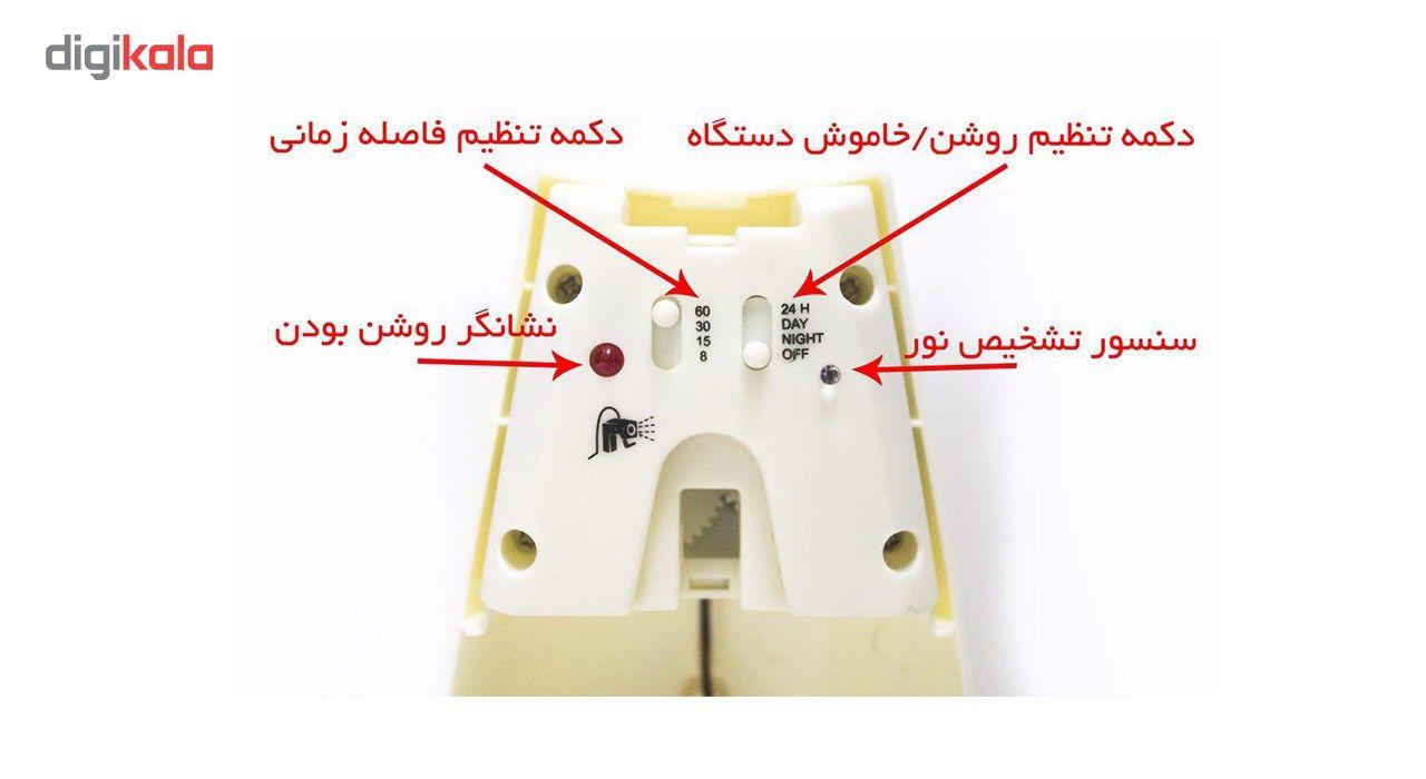 دستگاه اتوماتیک خوشبو کننده جی ام مدل 105E حجم 300 میلی لیتر main 1 3