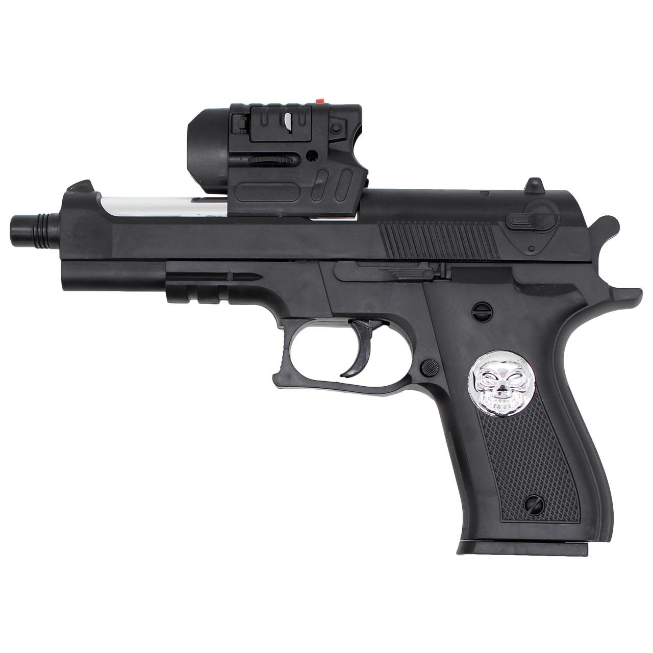 خرید                     تفنگ اسباب بازی ایر سافت گان مدل A-007 کد KTT-043