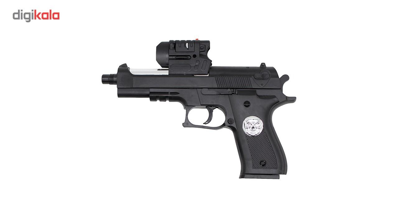 تفنگ اسباب بازی ایر سافت گان مدل A-007 کد KTT-043
