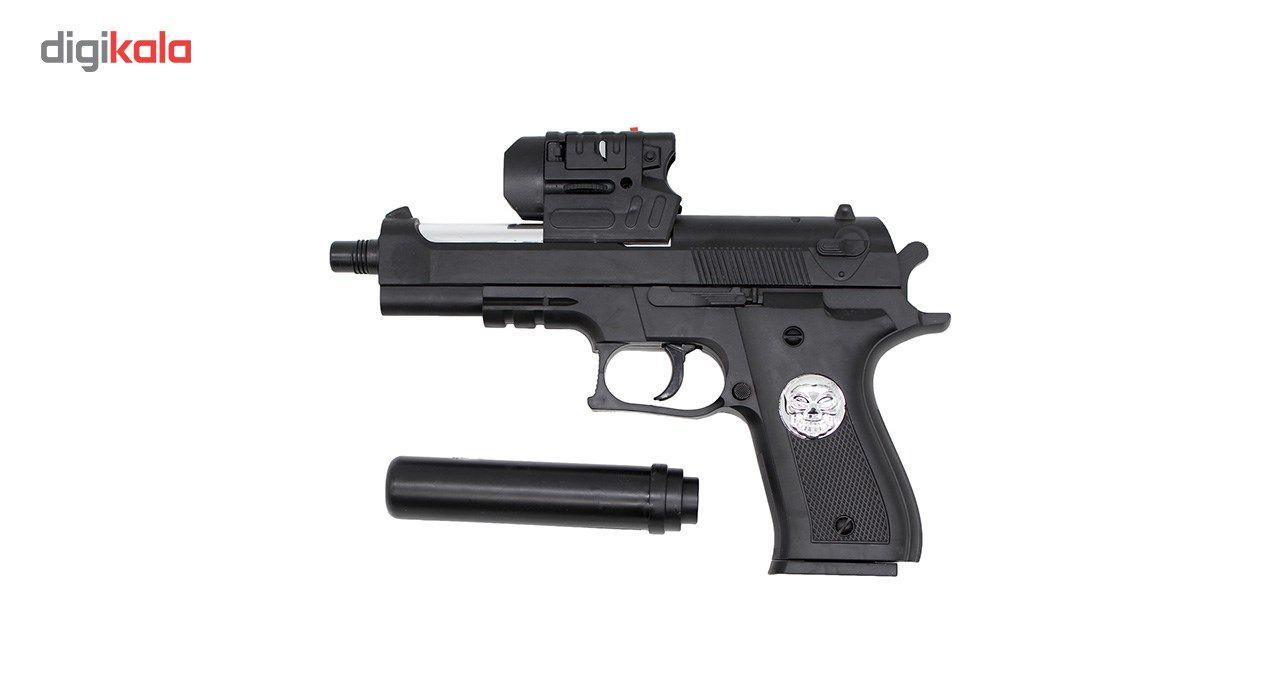 تفنگ اسباب بازی ایر سافت گان مدل A-007 کد KTT-043 main 1 2